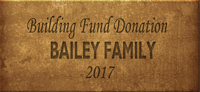 Building Fund Brick BAILEY 2017
