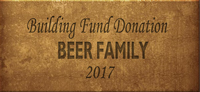 Building Fund Brick BEER 2017