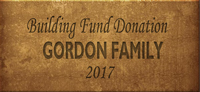 Building Fund Brick GORDON 2017