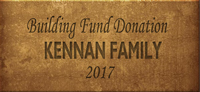 Building Fund Brick KENNAN 2017