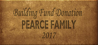 Building Fund Brick PEARCE 2017